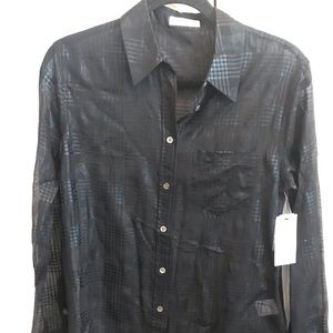 Equipment Sheer Blouse, New with Tags